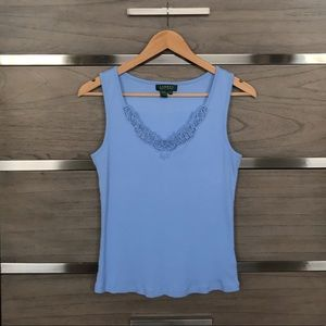 Ralph Lauren Lace Tank Top